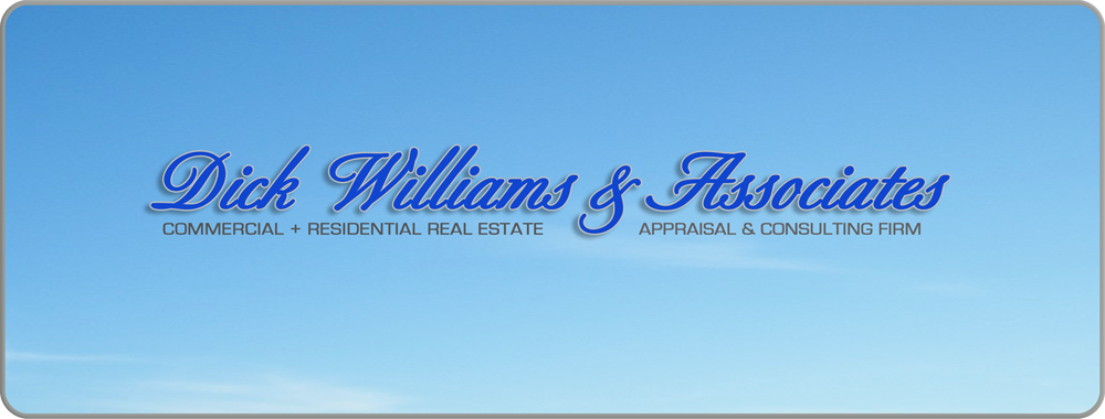 Dick Williams and Associates, commercial and residential real estate appraisal and consulting firm